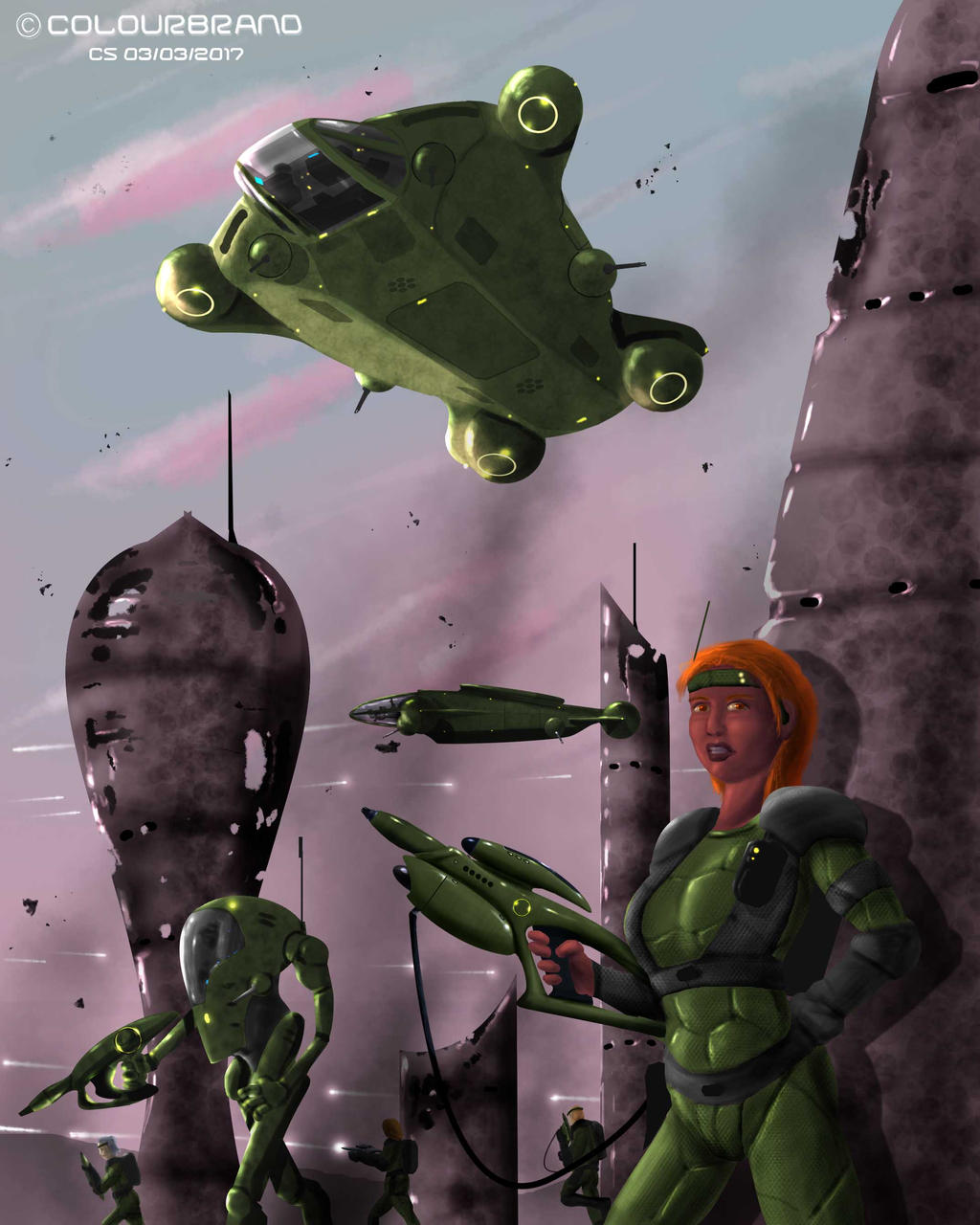 Battlefield by Colourbrand