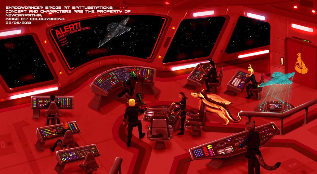 Shadowdancer Bridge at battlestation by Colourbrand