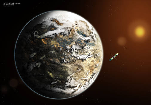 Commissioned: Terraformmed world