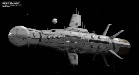 Commissioned: Aegis class heavy cruiser by Colourbrand