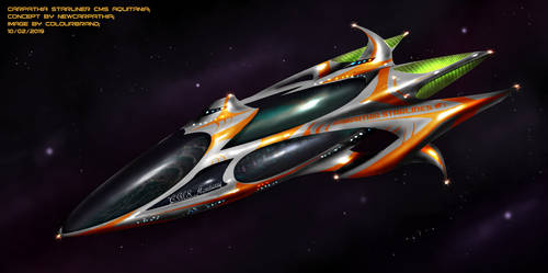 Commissioned: Carpathian Starliner by Colourbrand