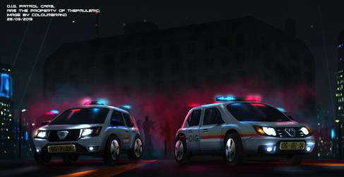 Commissioned: Police Patrol