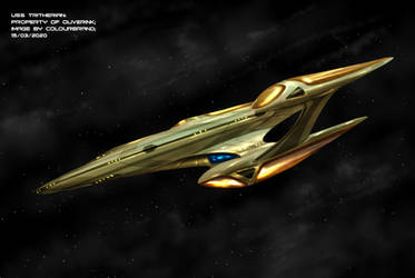 Commissioned: U.S.S Tritherian