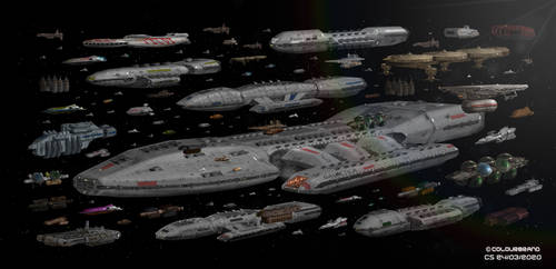 Rag Tag Fugitive Fleet (My version)