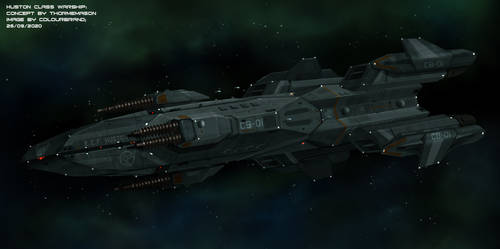 Commissioned: Huston Class Warship by Colourbrand