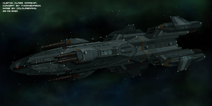Commissioned: Huston Class Warship