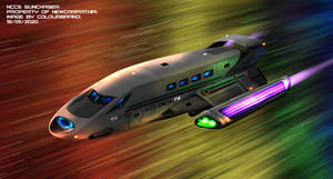 Commissioned: NCCS Sunchaser at speed