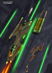Futuristic Y-Wing