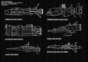 Commissioned: Battletech Ship Schematics