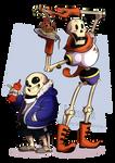 The skeledorks [fanart]