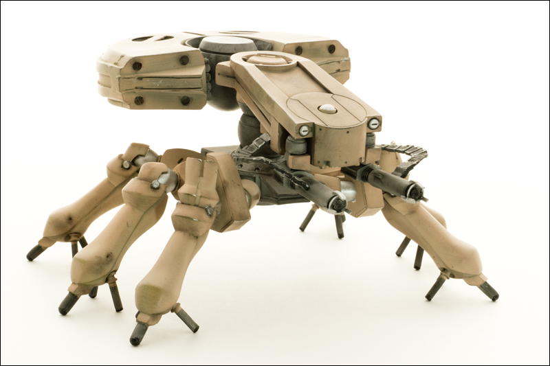 Spider Tank from GITS Movie by paulblythe