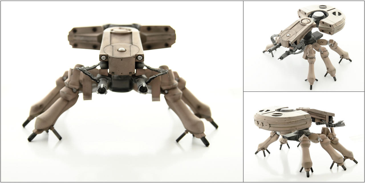 Spider Tank multi pic by paulblythe