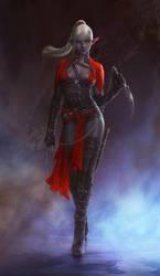 Dark Elf Assassin / Personal work