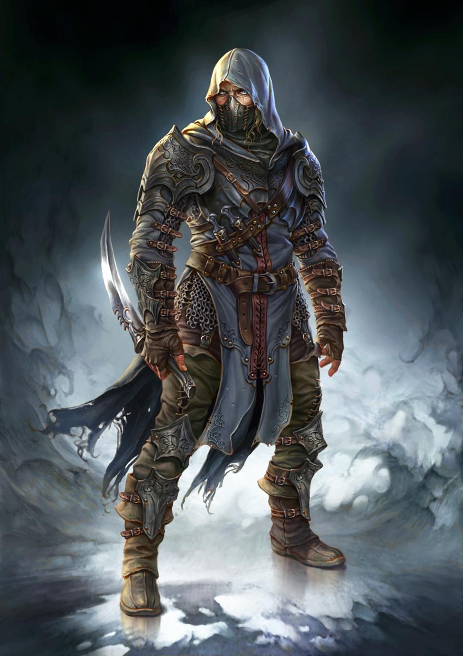 Hooded Dark Assassin | www.imgkid.com - The Image Kid Has It!