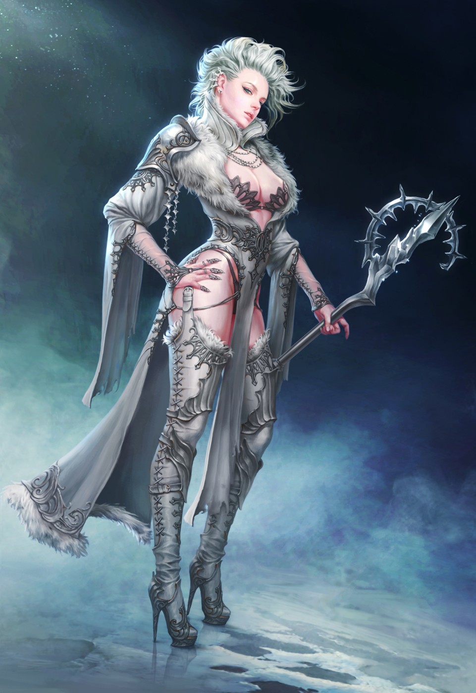 Ice Witch By Gpzang On Deviantart