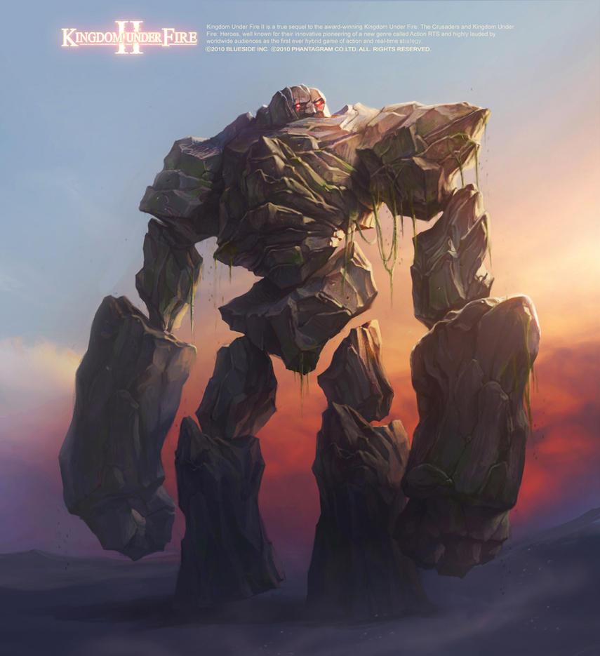 Golem / Kingdom Under Fire II by Gpzang
