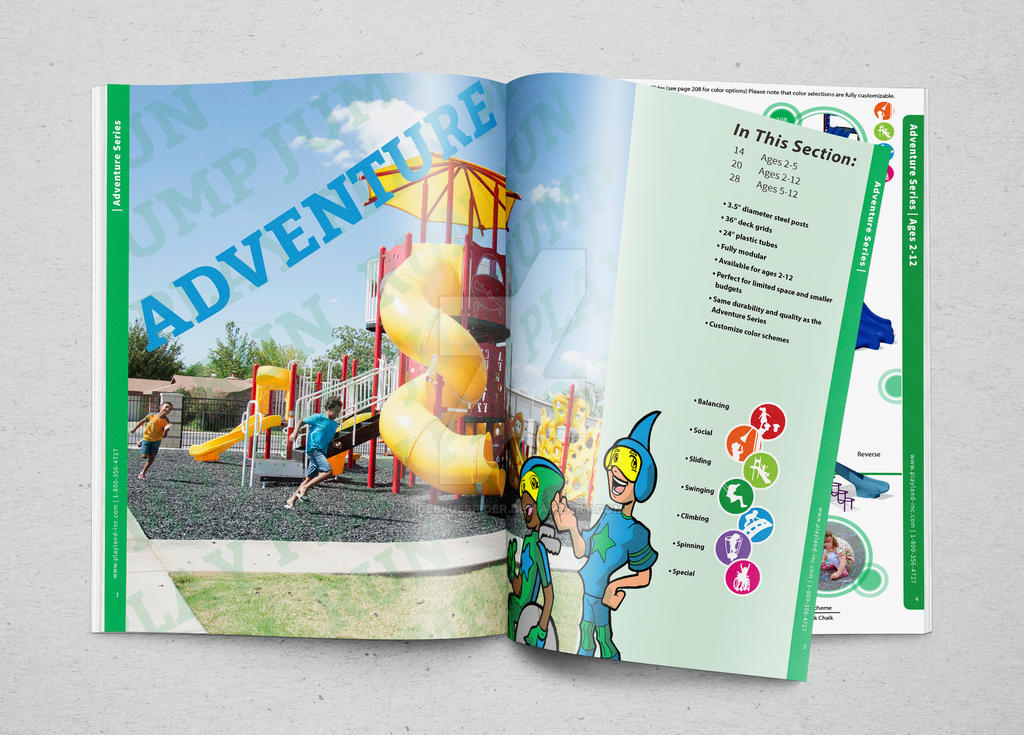 Playworld Magazine MockUp by icebluespider