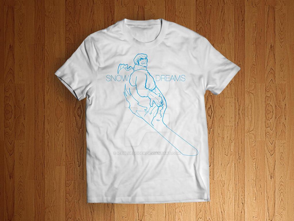 Snow Shirt by icebluespider
