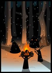 Winter spirits by koponafej
