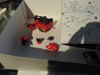Step 4 left arm parts