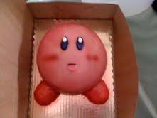 Kirby Cake by mychememogirl