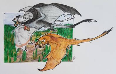 Big Bat Delivery by NightingaleWind