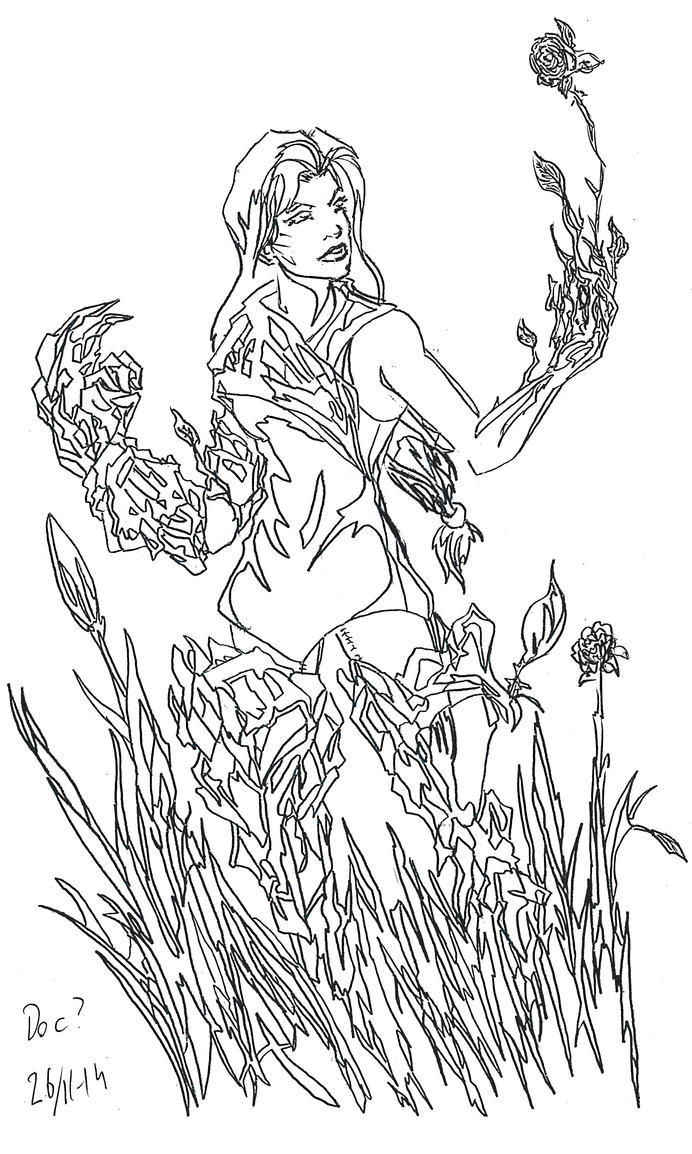 Sketch Woodshaper character by Jeppe Roemer by TolkyJr