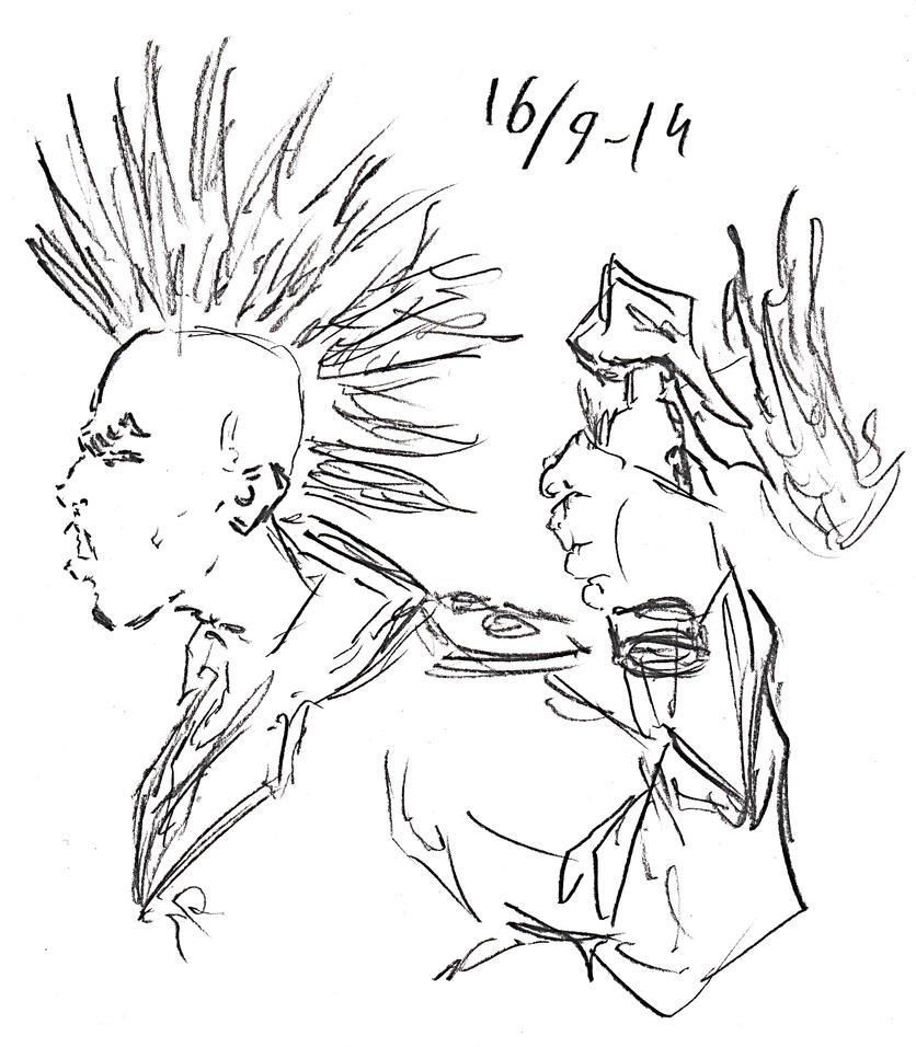 Punker Sketch by Jeppe Roemer by TolkyJr