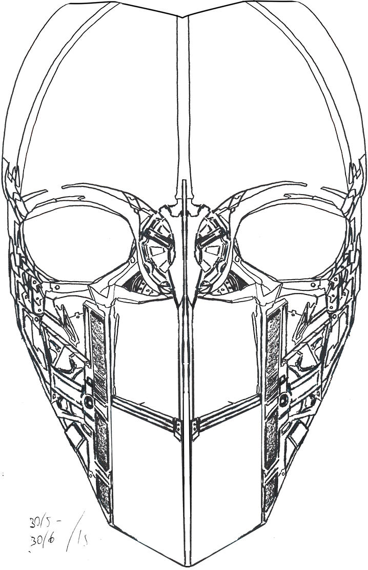 Steampunk Paintball-mask design by Jeppe Roemer by TolkyJr