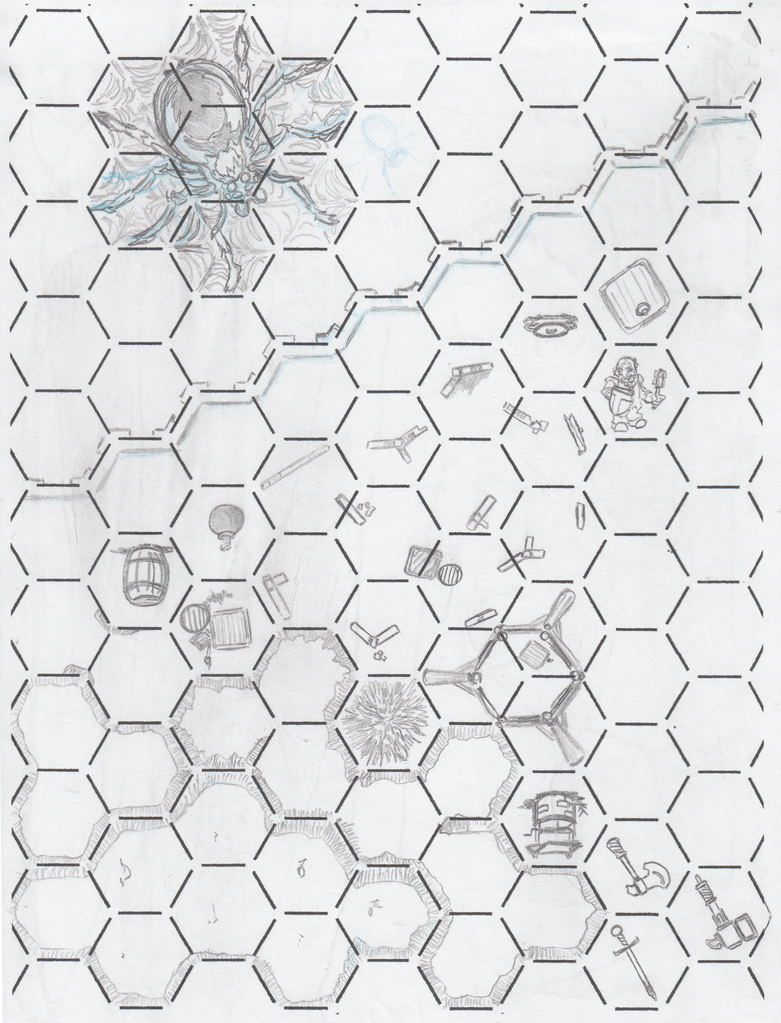 Rpg hex drawings - miscellaneous by Jeppe Roemer by TolkyJr