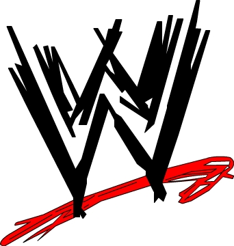 wwe logo colored by flaminphoenixrlzusll on DeviantArt