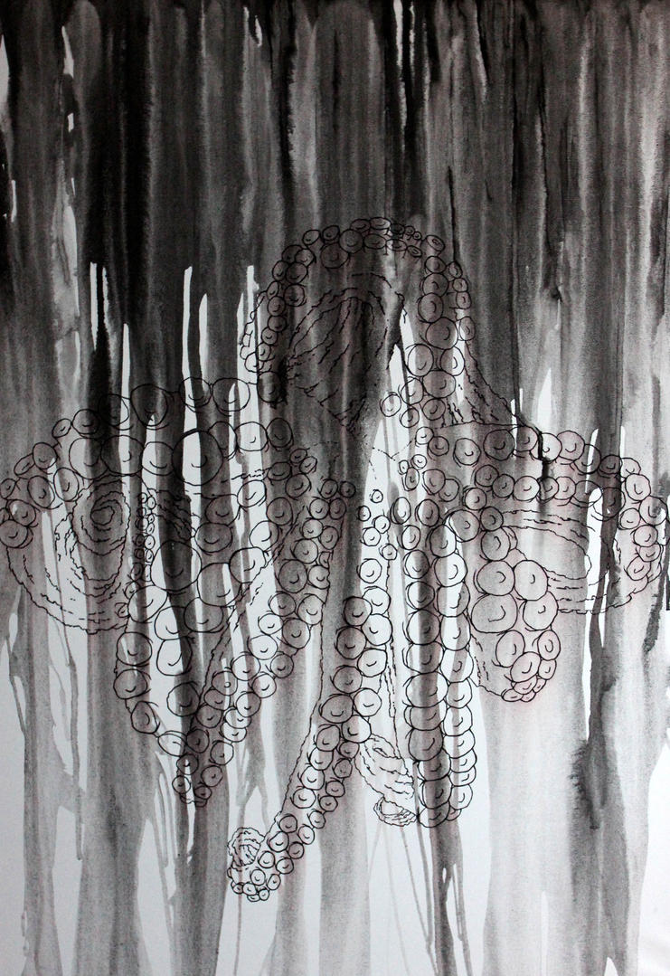 Ocean Ink by ShinigamiNoAkui