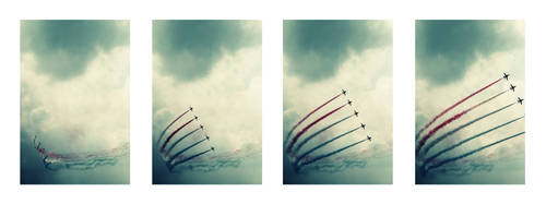 Red Arrows: II. by AnnetteSkye