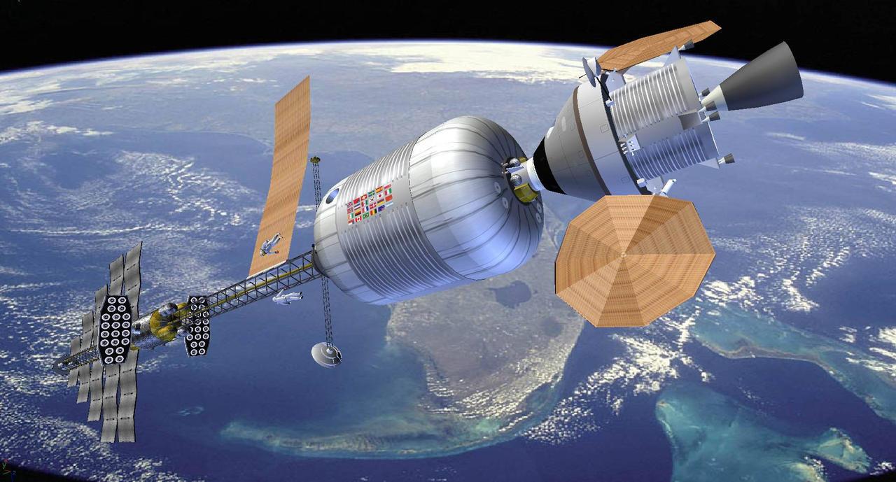 Hermes in Earth Orbit by francisdrakex