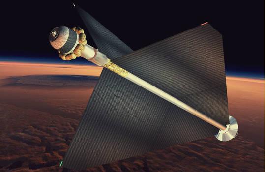 The Bloemfontein over Mars