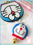 Doraemon cell phone strap