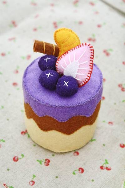 Blueberry cake by li-sa