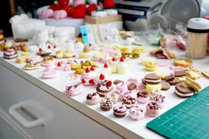 My messy table by li-sa