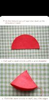 Felt cake tutorial- strawberry by li-sa