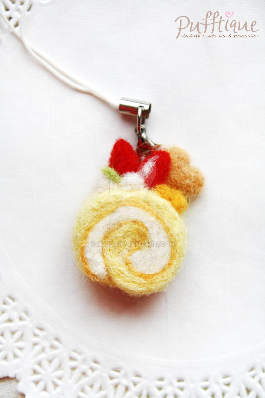 Mini Fruit Swiss Roll by li-sa