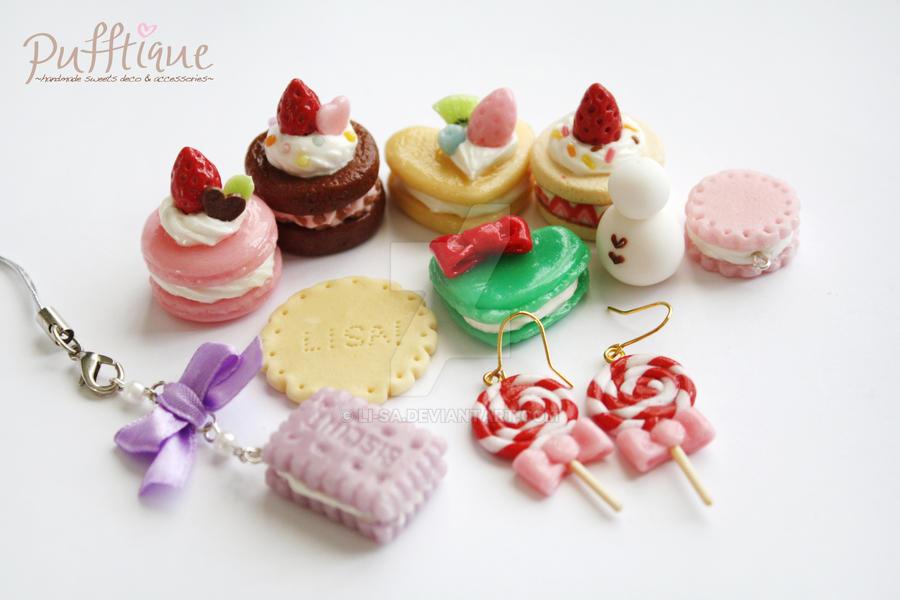 Miniature Sweets by li-sa