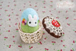 Needle Felted Easter Egg