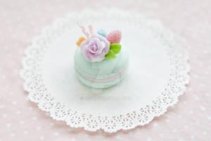 Floral Pastel Macaron by li-sa