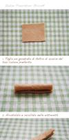 [Italian] Felt cake tutorial- egg roll