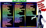 MMD Dance Motion Data Files Index Part 1 + DL