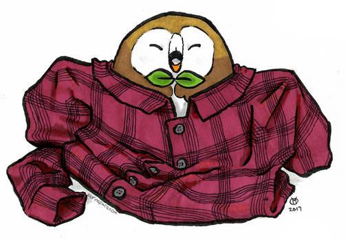 Inktober 24 - Flannelet