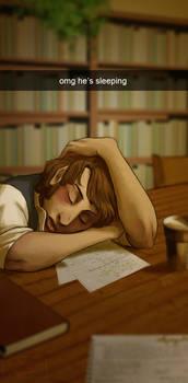Book Club - He's Sleeping