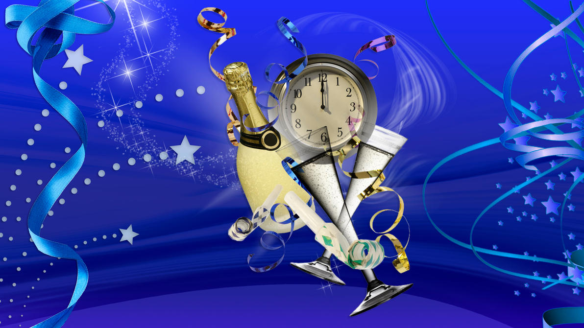 New Years Time by Frankief
