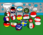 Argentina 1978 in countryballs