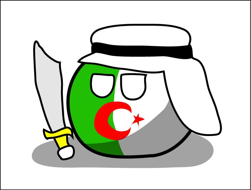 Algeriaball by dykroon-chan